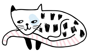 sleeping cat icon