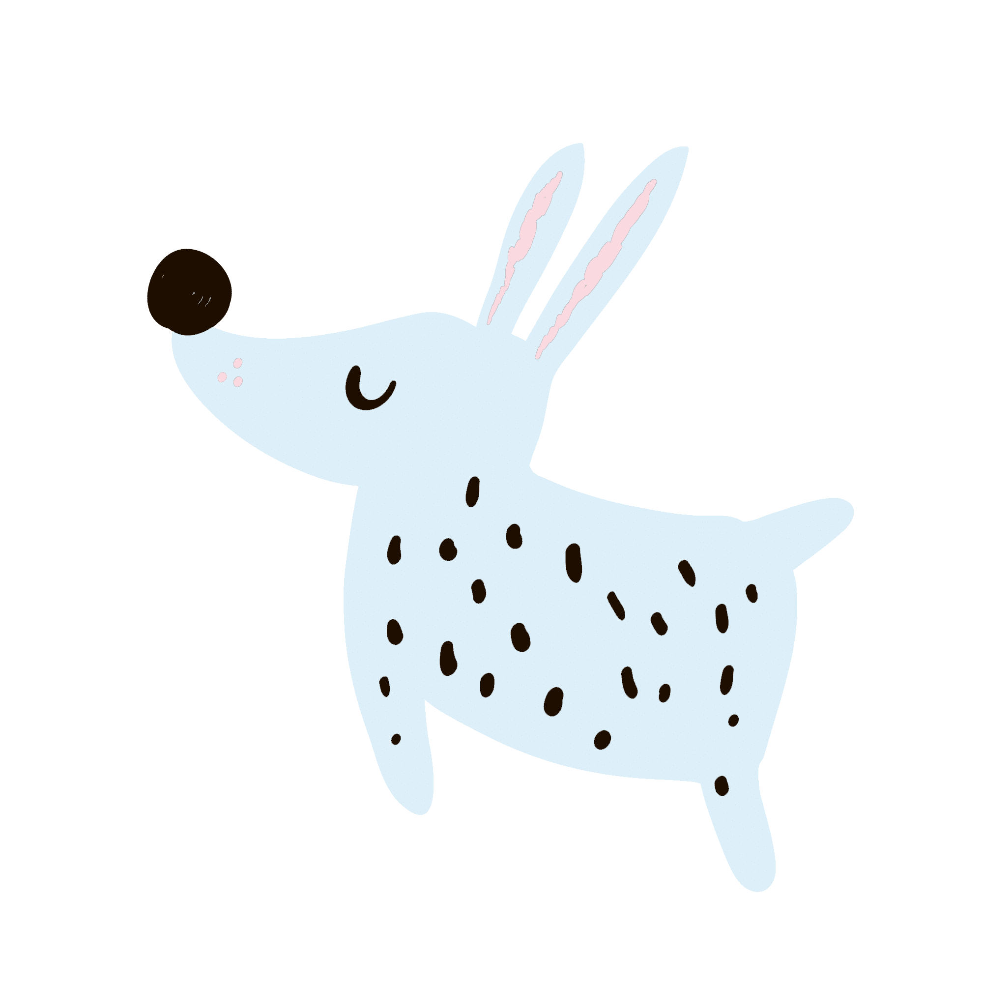 happy dog icon